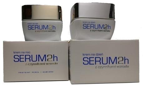 SERUM 2H - Genoscope zestaw - krem na noc + dzień  (1)