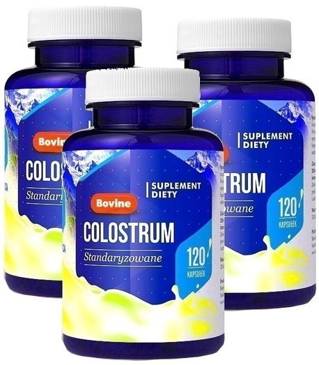 Hepatica Colostrum Bovine 30%lgG 360 kaps. krowie (1)