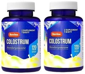 Hepatica Colostrum Bovine 30%lgG 240 kaps. krowie
