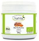 NatVita Kurkuma BIO korzeń mielony 250g organiczna