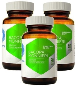 Hepatica - Bacopa Monnieri ekstrakt 270 kapsułek