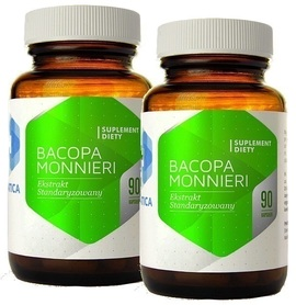 Hepatica - Bacopa Monnieri ekstrakt 180 kapsułek
