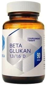 Hepatica Beta Glukan 85% 1,3/1,6 D - 90 Kapsułek