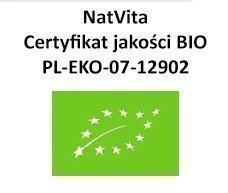 NatVita Bio Białko z Grochu 80% ORGANICZNE 500G
