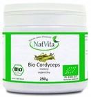 NatVita Bio Cordyceps Militaris Grzyb proszek 250g