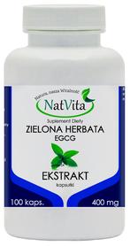 Zielona Herbata ekstrakt EGCG kapsułki 400mg 100szt