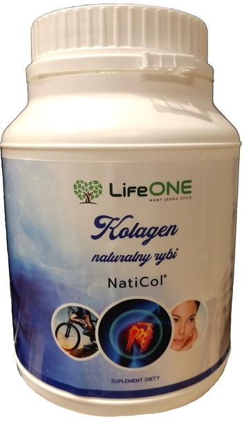 LifeONE NatiCol Kolagen Rybi 500g 100% czysty