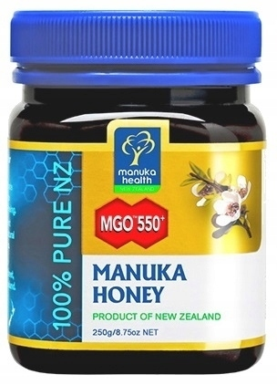 MIÓD MANUKA Health MGO 550+ ORYGINALNY z NZ 250g (1)