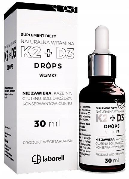 LABORELL Witamina K2MK7+D3 drops 30ml (1)