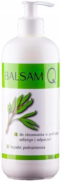 INDIA BALSAM Q na odleżyny, odparzenia 500ml (1)
