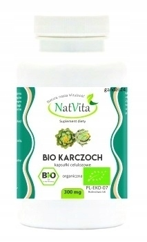 NatVita Karczoch BIO kapsułki 300mg 100szt. (1)