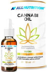 SFD ALLNUTRITION Olej konopny CBD 5% 10ml Cannabi Oil