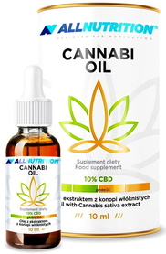 SFD ALLNUTRITION Olej konopny CBD 10% 10ml Cannabi Oil
