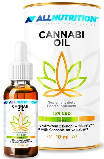 SFD ALLNUTRITION Olej konopny CBD 15% 10ml Cannabi Oil