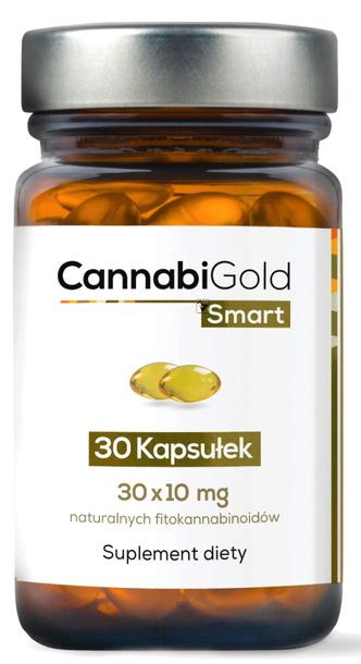 CannabiGold Smart 30 x 10mg Olej konopny w kaps. (1)